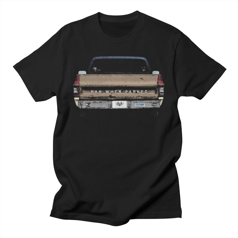 Ran When Parked Tailgate (Multi-Colored) Men's T-Shirt by Ran When Parked Supply Co.
