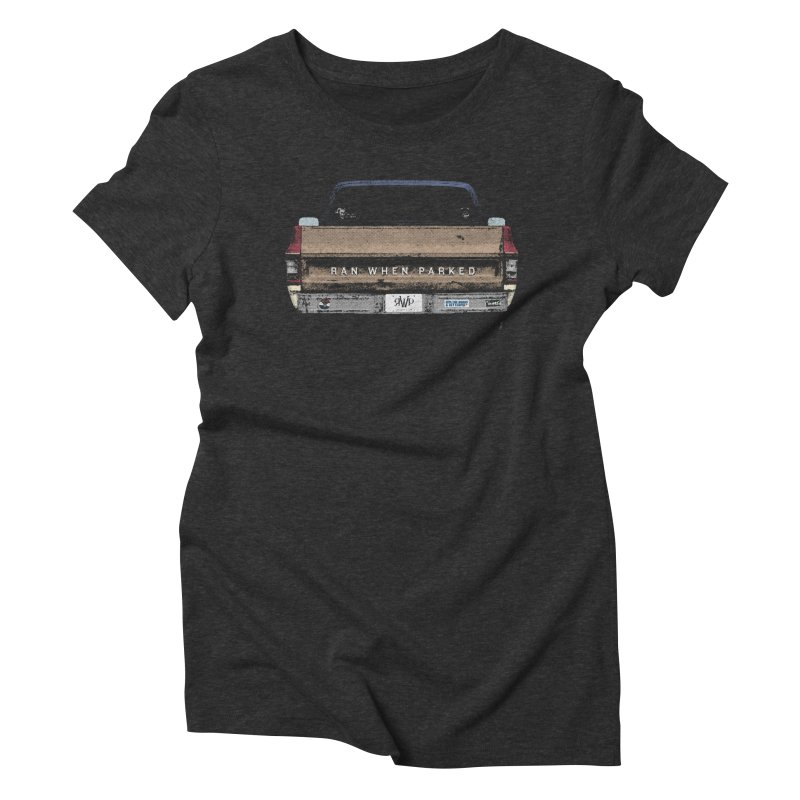 Ran When Parked Tailgate (Multi-Colored) Women's T-Shirt by Ran When Parked Supply Co.
