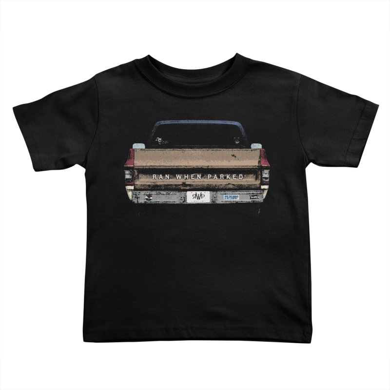 Ran When Parked Tailgate (Multi-Colored) Kids Toddler T-Shirt by Ran When Parked Supply Co.