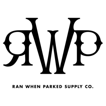 Ran When Parked Supply Co. Logo