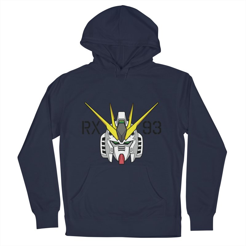 RX-93 Women's French Terry Pullover Hoody by GundamUK's Store!