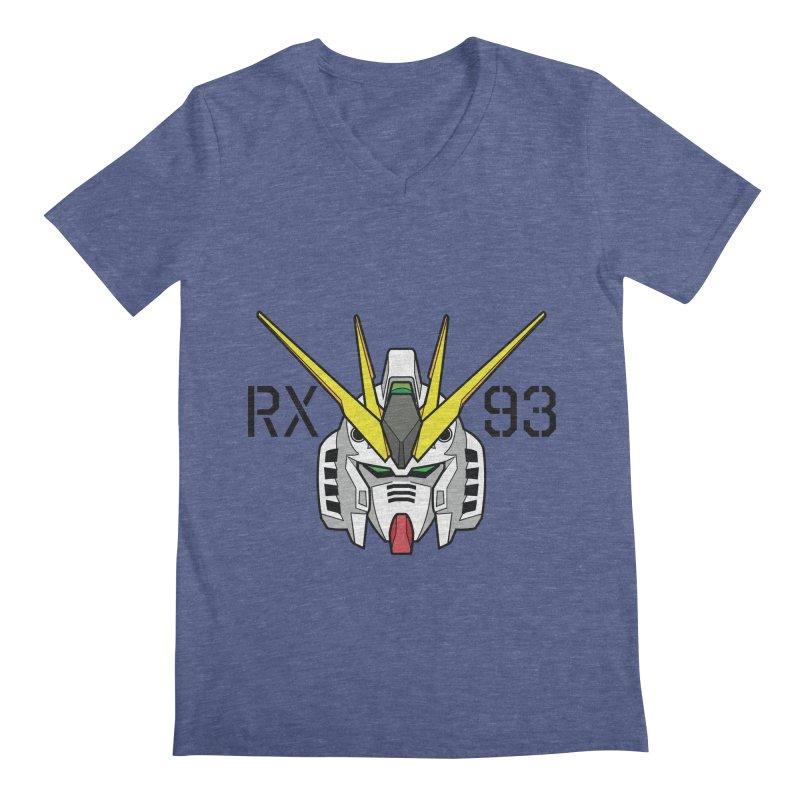 RX-93 Men's Regular V-Neck by GundamUK's Store!