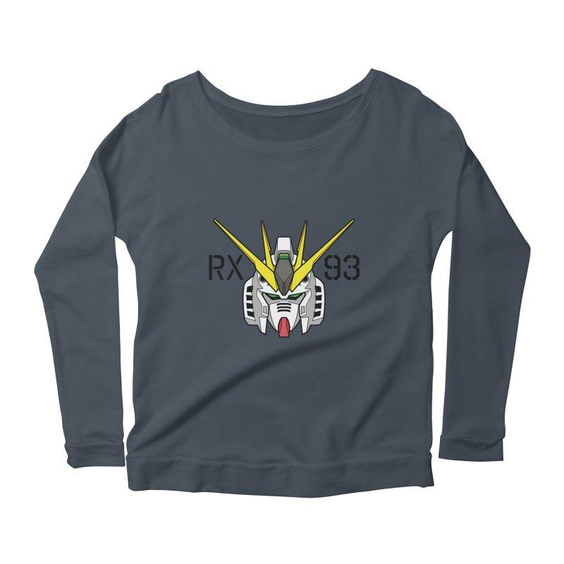 RX-93 Women's Scoop Neck Longsleeve T-Shirt by GundamUK's Store!