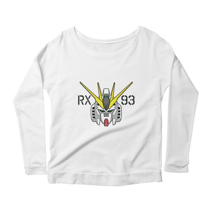 RX-93 Women's Scoop Neck Longsleeve T-Shirt by GundamUK's Store!