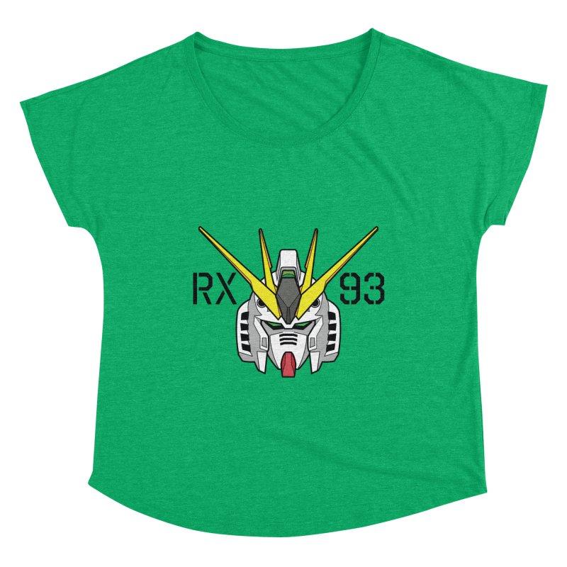 RX-93 Women's Dolman Scoop Neck by GundamUK's Store!