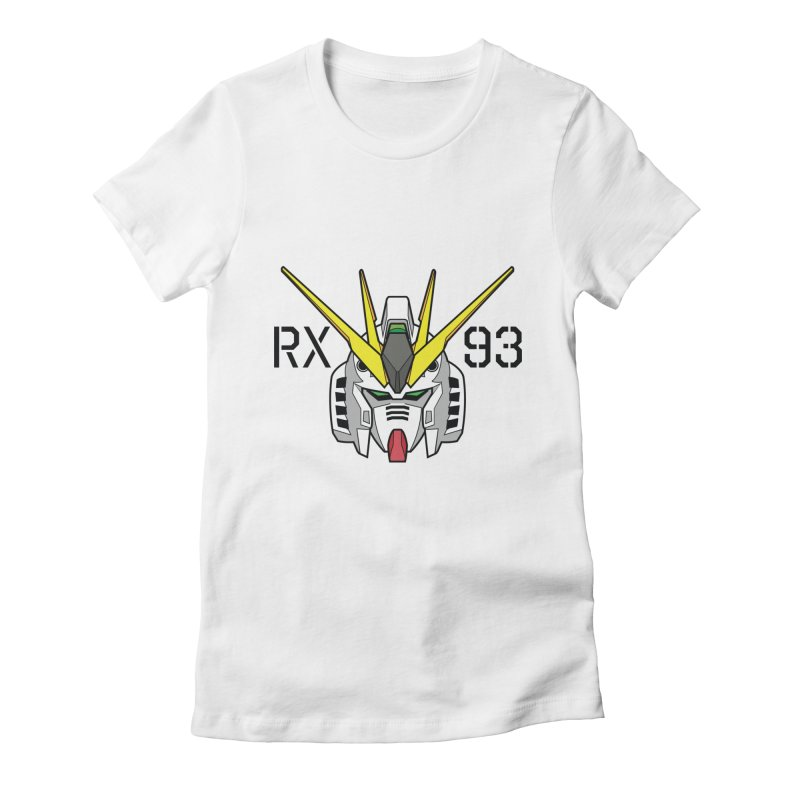 RX-93 Women's Fitted T-Shirt by GundamUK's Store!