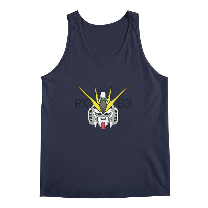 RX-93 Men's Regular Tank by GundamUK's Store!