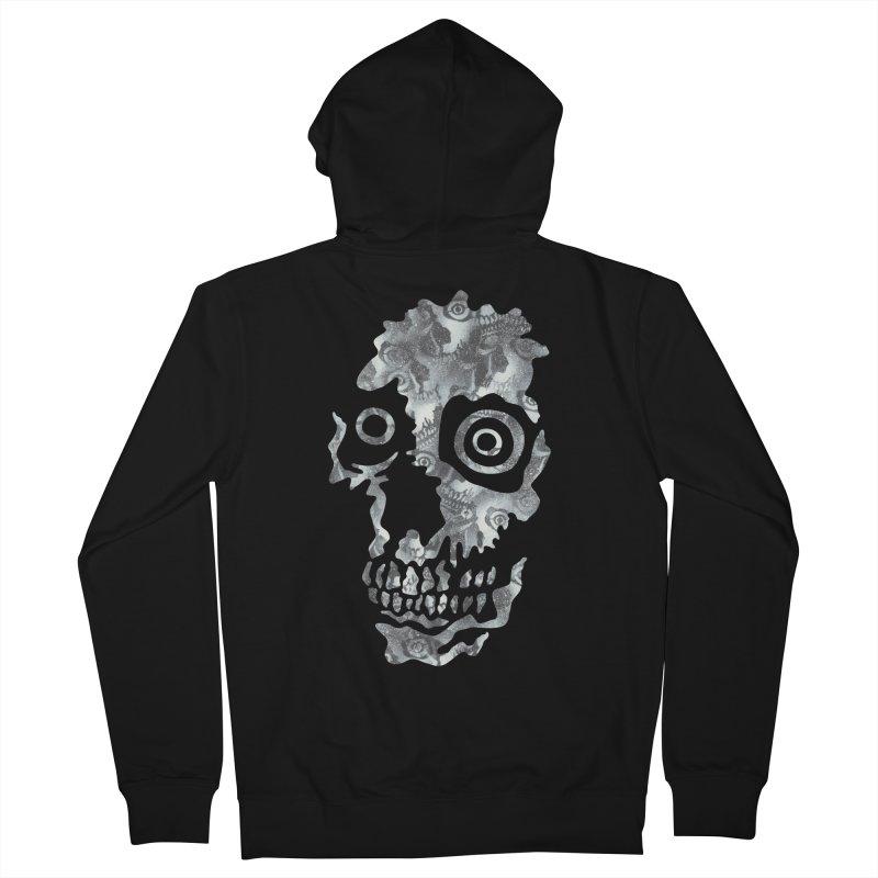 Splatter Skulls Men's French Terry Zip-Up Hoody by rxskulls's Artist Shop