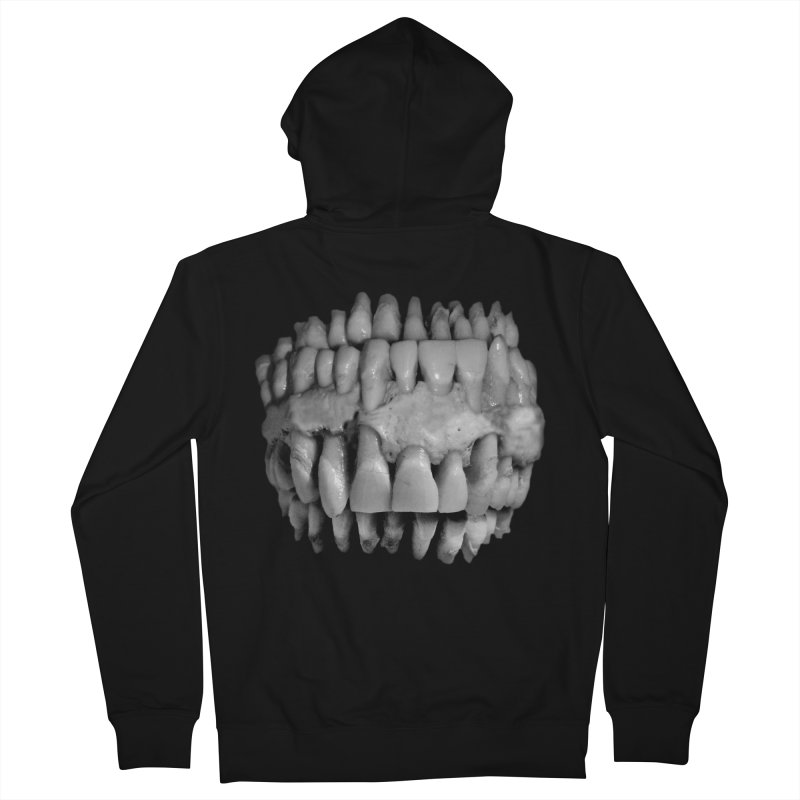RX Conjoined Teefs Men's French Terry Zip-Up Hoody by RX Skulls