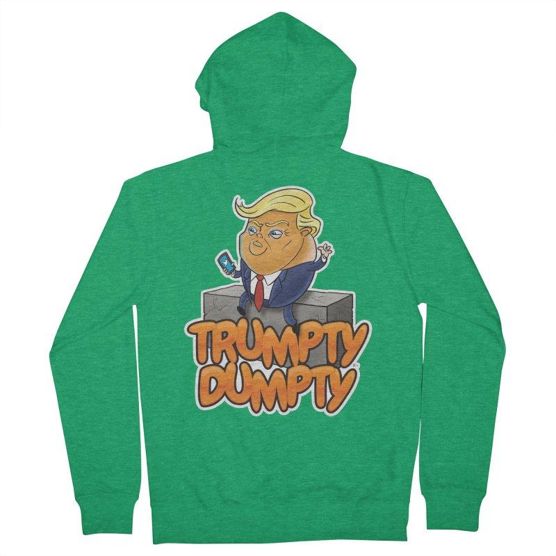 Trumpty Dumpty Women's Zip-Up Hoody by Ryan Ahrens' Artist Shop