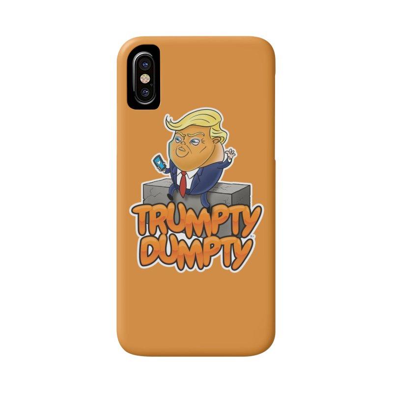 Trumpty Dumpty in iPhone X / XS Phone Case Slim by Ryan Ahrens' Artist Shop