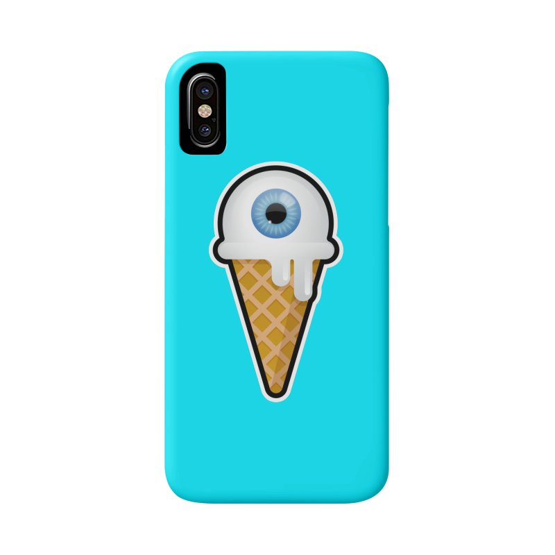 Eyescream Accessories Phone Case by Ryan Ahrens' Artist Shop