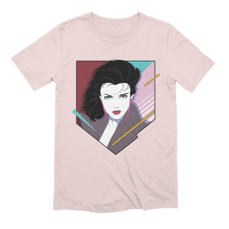 Her Name Is Rio in Men's Extra Soft T-Shirt Soft Pink by Ryan Ahrens' Artist Shop