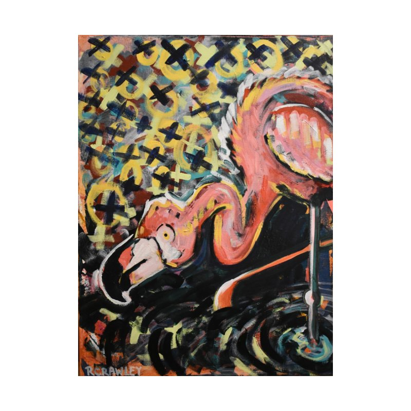 Flamingo Home Fine Art Print by Rcrawley Art - Shop