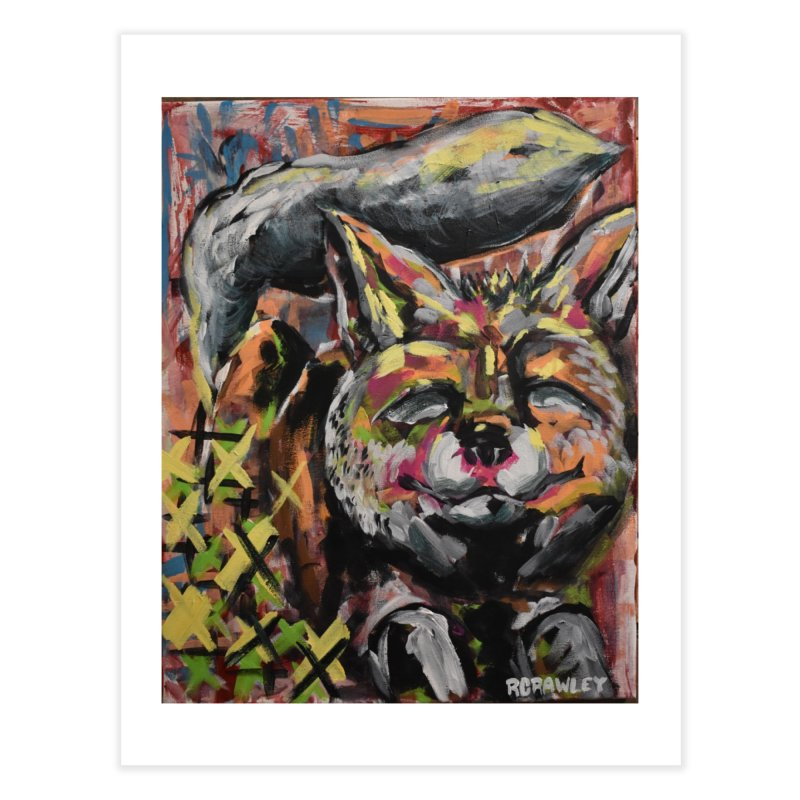 Fox Home Fine Art Print by Rcrawley Art - Shop