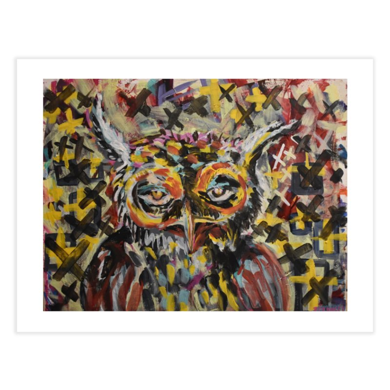 Owl Home Fine Art Print by Rcrawley Art - Shop