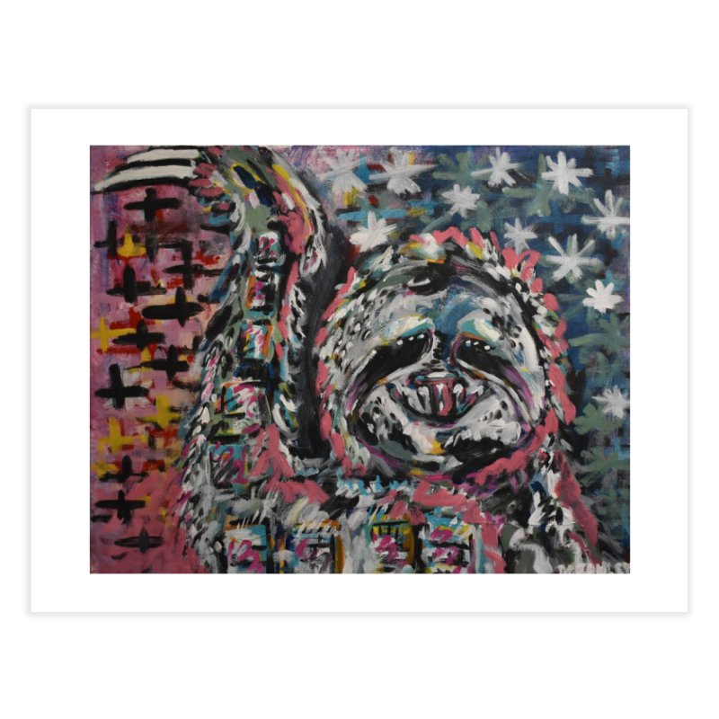Sloth Home Fine Art Print by Rcrawley Art - Shop
