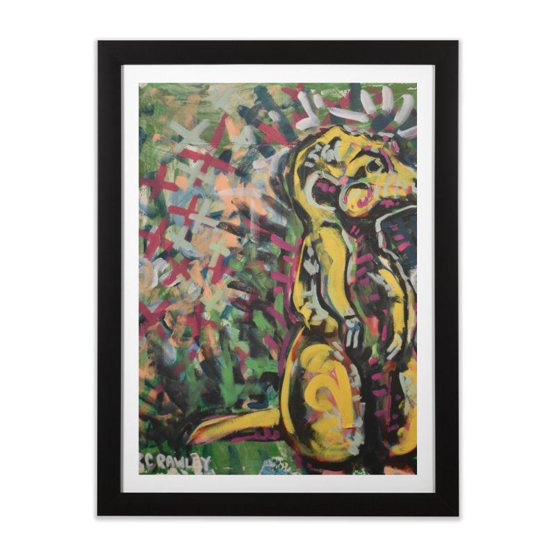 Meerkat Home Framed Fine Art Print by Rcrawley Art - Shop
