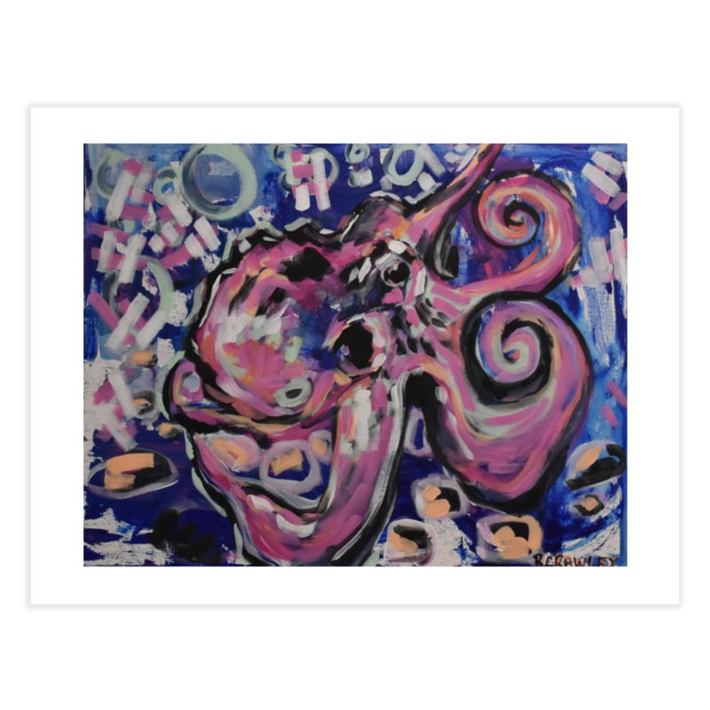 Octopus III Home Fine Art Print by Rcrawley Art - Shop