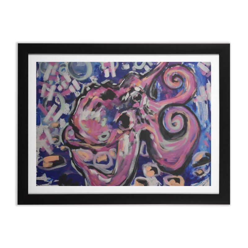 Octopus III Home Framed Fine Art Print by Rcrawley Art - Shop