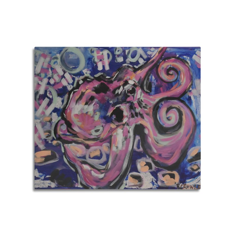 Octopus III Home Mounted Acrylic Print by Rcrawley Art - Shop
