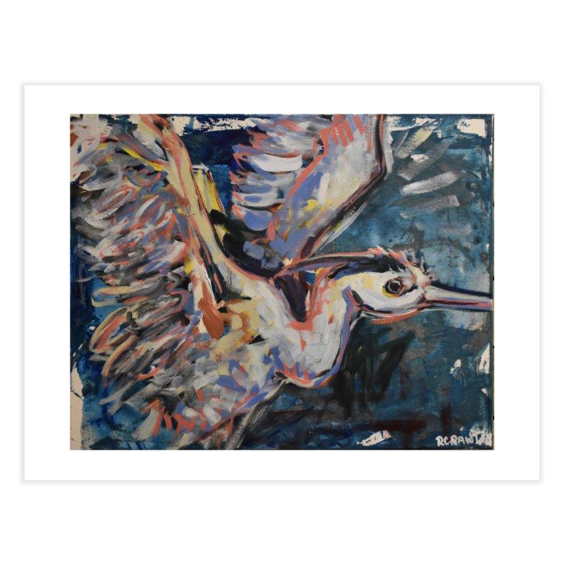 Blue Heron II Home Fine Art Print by Rcrawley Art - Shop