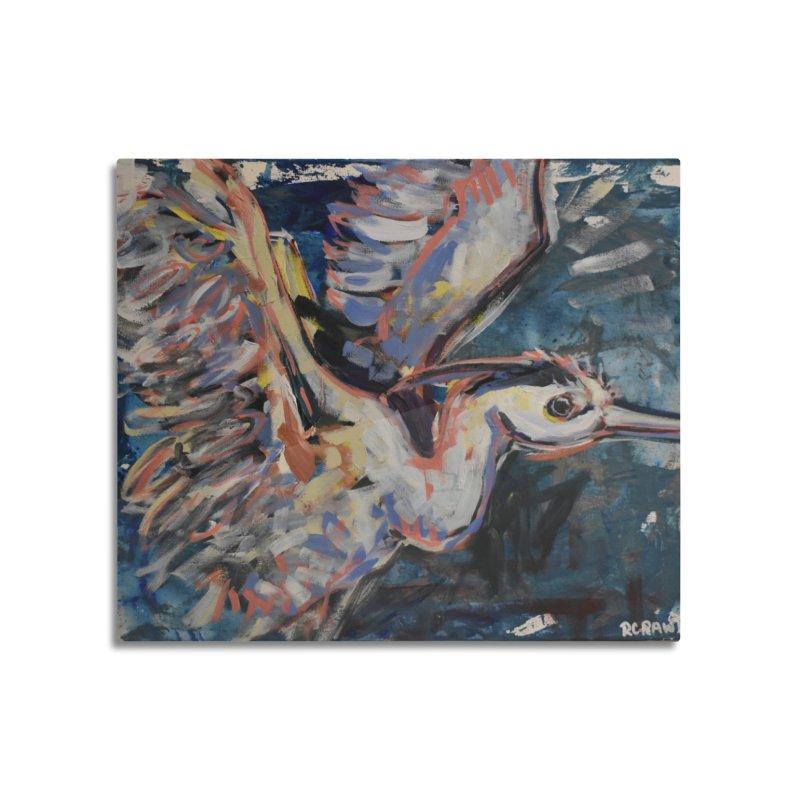 Blue Heron II Home Mounted Aluminum Print by Rcrawley Art - Shop
