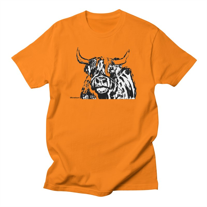 Highlander T Men's Regular T-Shirt by Rcrawley Art - Shop