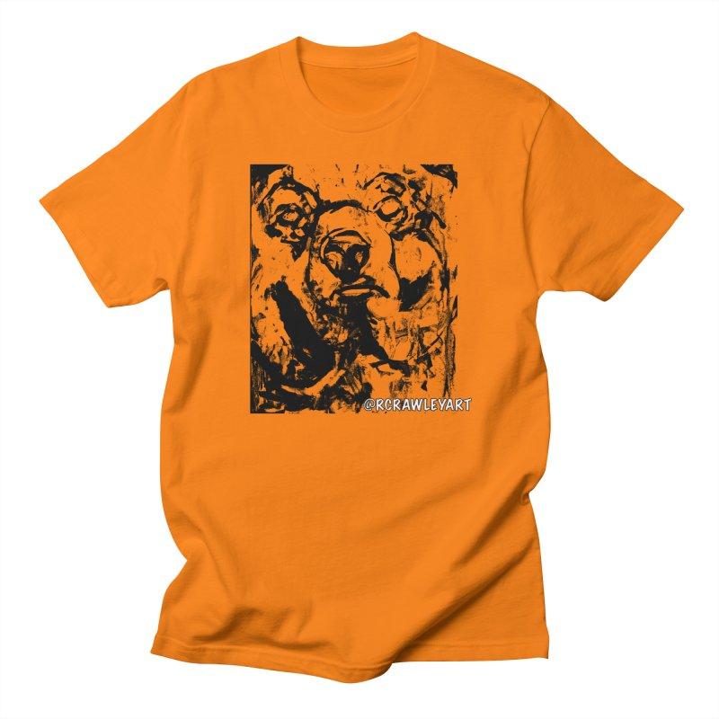 Bear T Women's Regular Unisex T-Shirt by Rcrawley Art - Shop