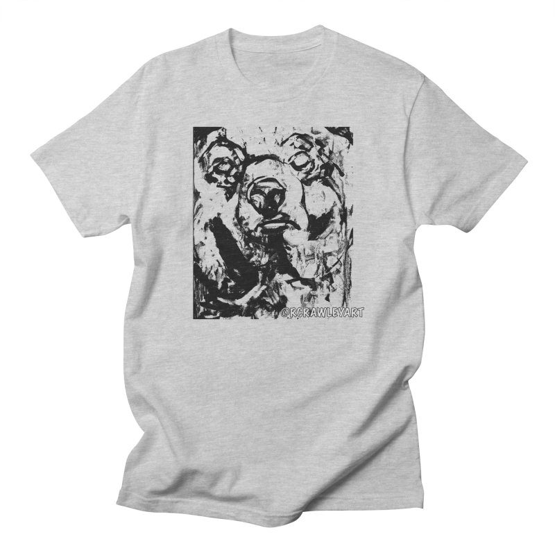 Bear T Men's Regular T-Shirt by Rcrawley Art - Shop