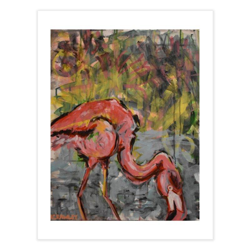 Flamingo II Home Fine Art Print by Rcrawley Art - Shop