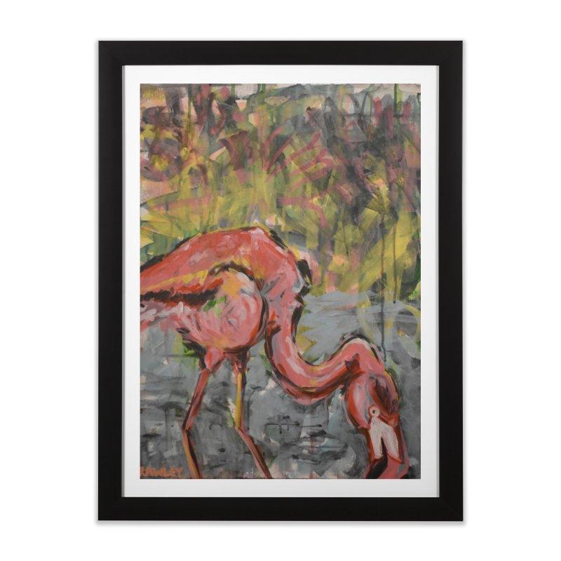 Flamingo II Home Framed Fine Art Print by Rcrawley Art - Shop