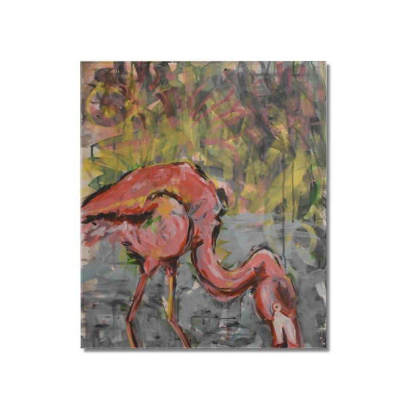 Flamingo II Home Mounted Acrylic Print by Rcrawley Art - Shop