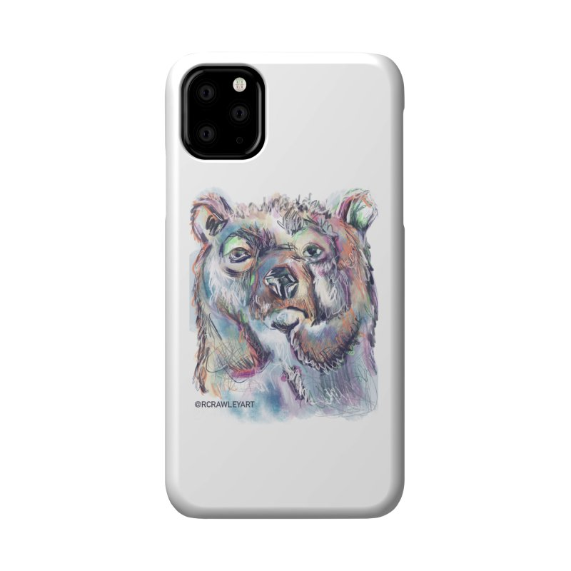Bear II (digital) Accessories Phone Case by Rcrawley Art - Shop