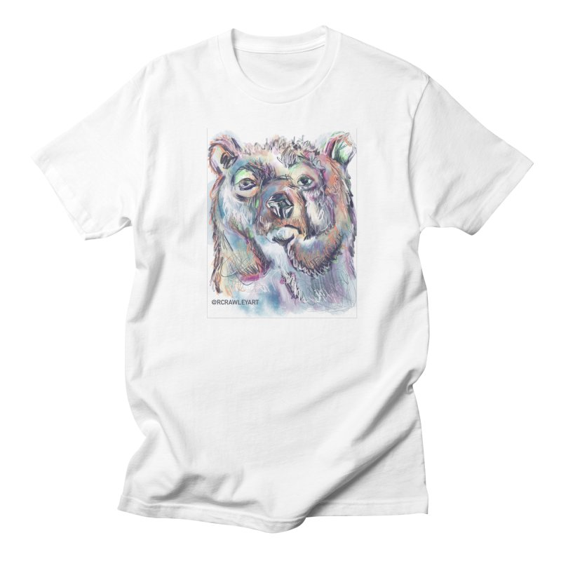 Bear II (digital) Men's Regular T-Shirt by Rcrawley Art - Shop