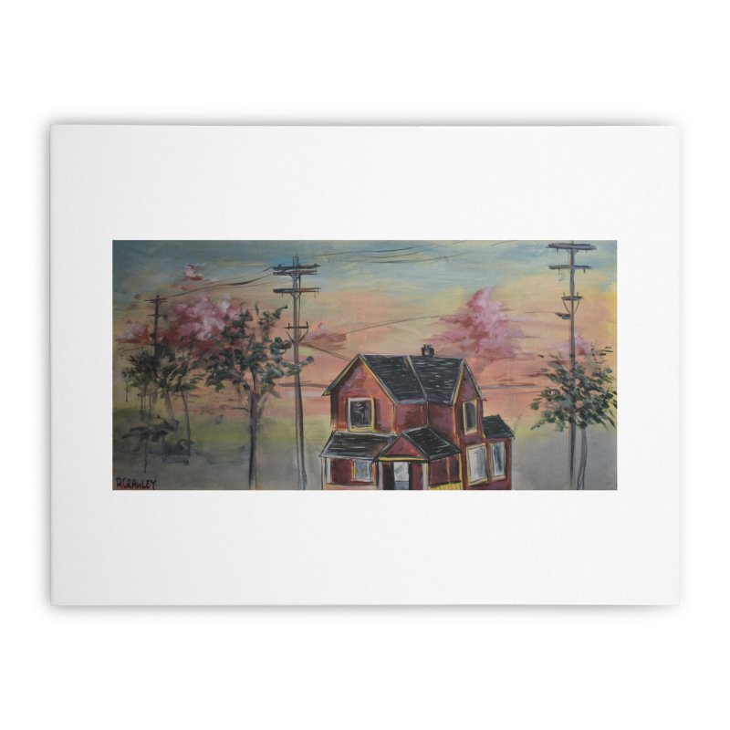 Home I Home Stretched Canvas by Rcrawley Art - Shop