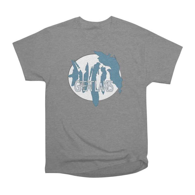 H.O.M.E.S. (Great Lakes) Women's Heavyweight Unisex T-Shirt by Rcrawley Art - Shop