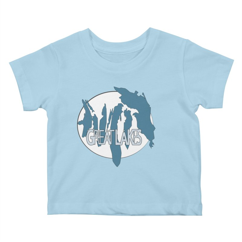 H.O.M.E.S. (Great Lakes) Kids Baby T-Shirt by Rcrawley Art - Shop