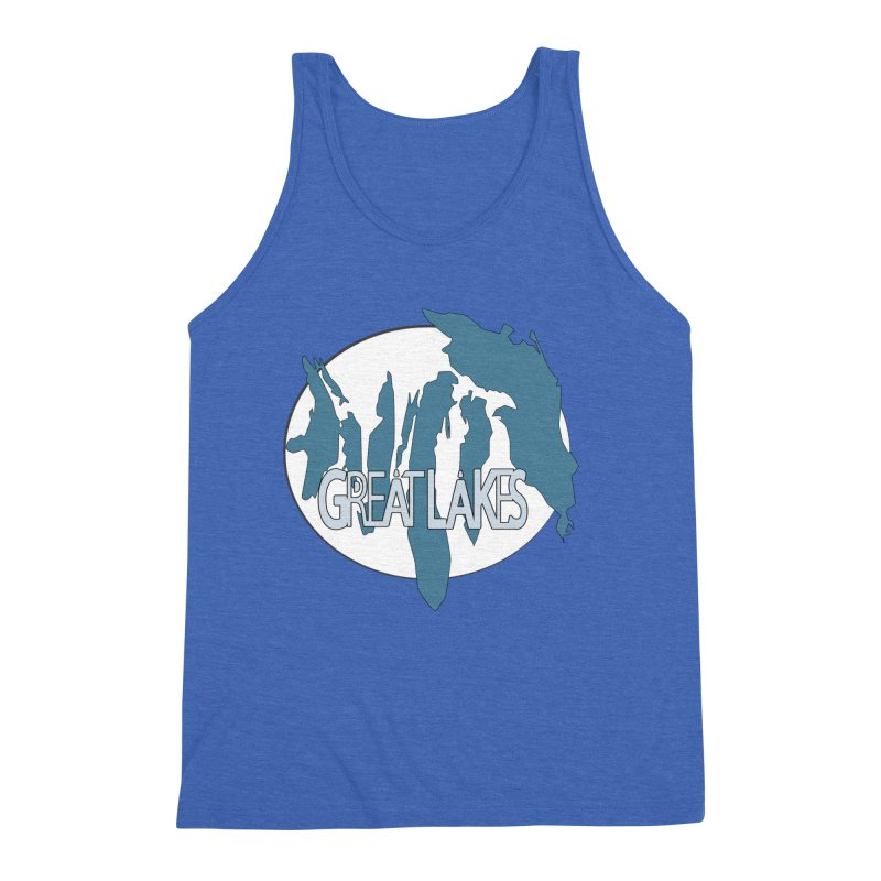 H.O.M.E.S. (Great Lakes) Men's Triblend Tank by Rcrawley Art - Shop