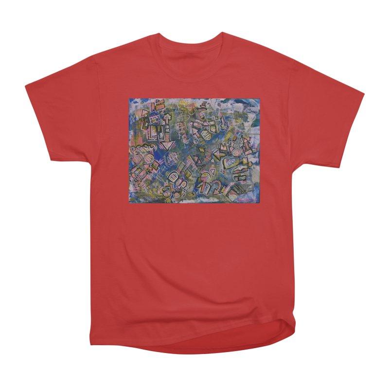 Sketch Painting #5 Women's Heavyweight Unisex T-Shirt by Rcrawley Art - Shop