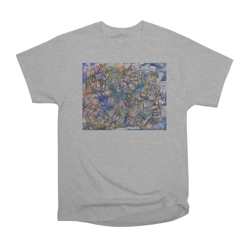 Sketch Painting #5 Women's Heavyweight Unisex T-Shirt by Rcrawley Art - Shop
