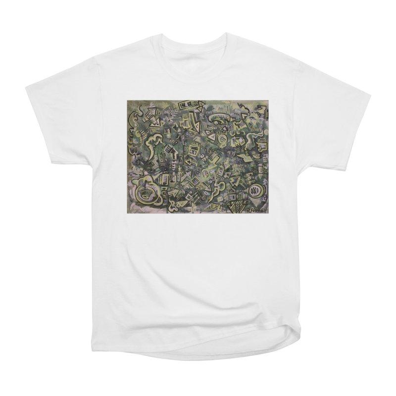 Sketch Painting #6 Men's Heavyweight T-Shirt by Rcrawley Art - Shop