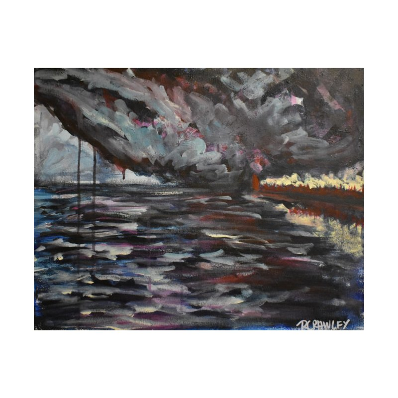 Storm Over Lighthouse by Rcrawley Art - Shop