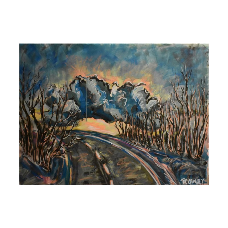 Clouds over the road by Rcrawley Art - Shop