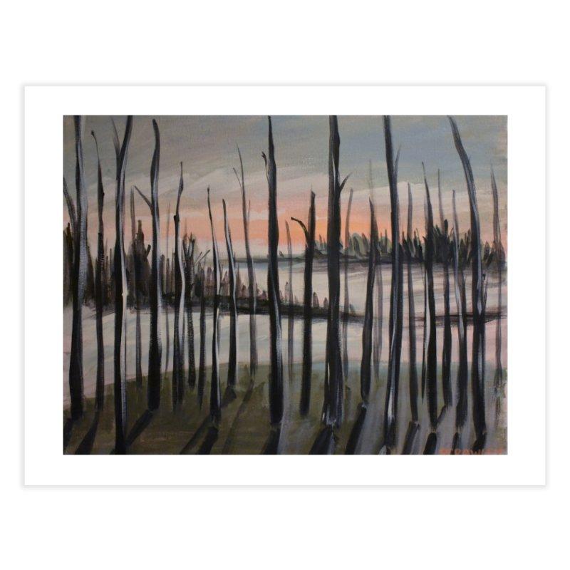 Highway Trees in Fine Art Print by Rcrawley Art - Shop