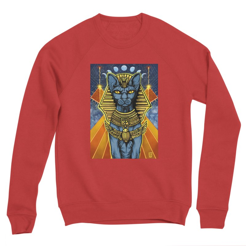 Pharaoh Space Cat Men's Sweatshirt by RyanJackAllred