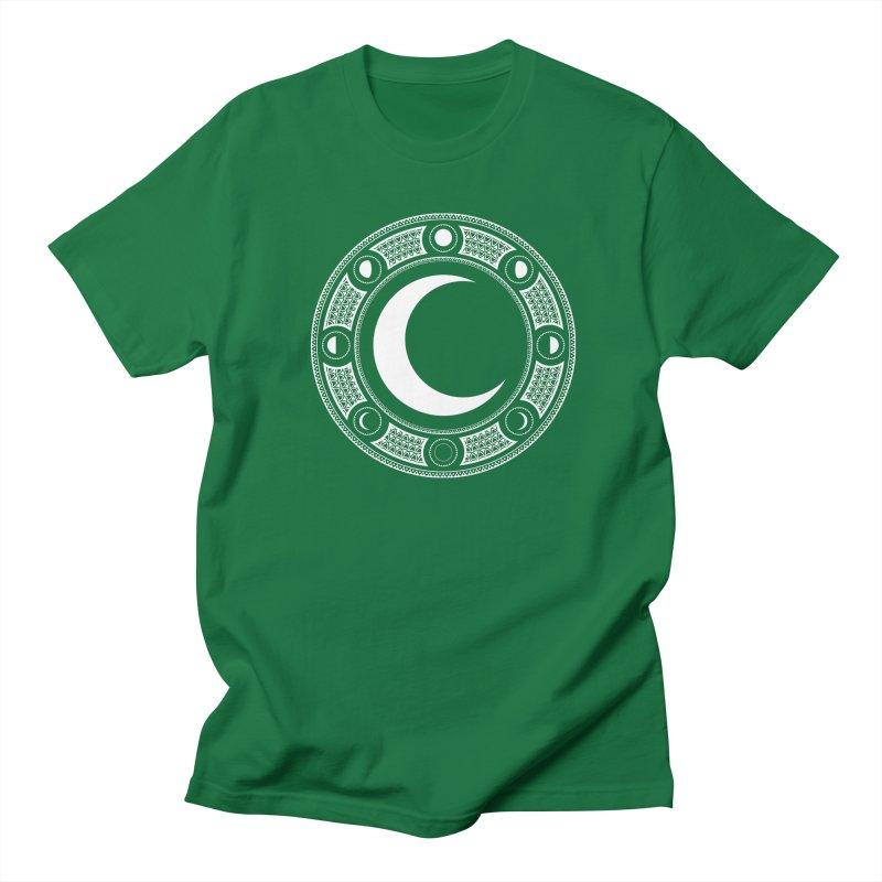 Crescent Moon Emblem Men's T-Shirt by RyanJackAllred