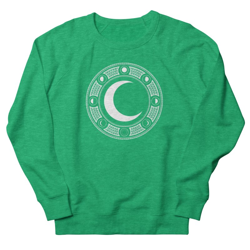 Crescent Moon Emblem Women's Sweatshirt by RyanJackAllred