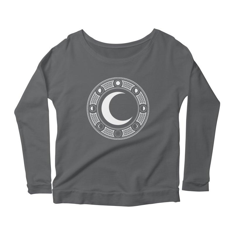 Crescent Moon Emblem Women's Longsleeve T-Shirt by RyanJackAllred
