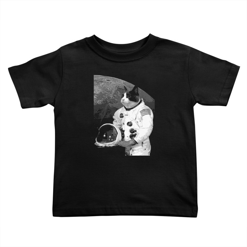 ASTROCAT Kids Toddler T-Shirt by Art of Ryan Winchell